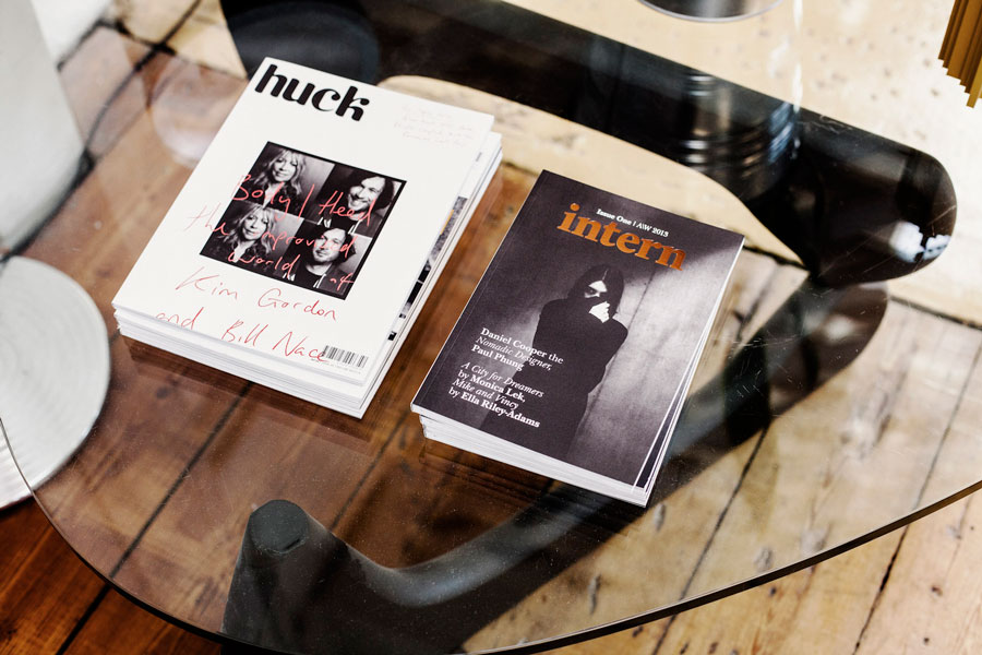 Huck 42 & Intern  Issue One designed by SWO