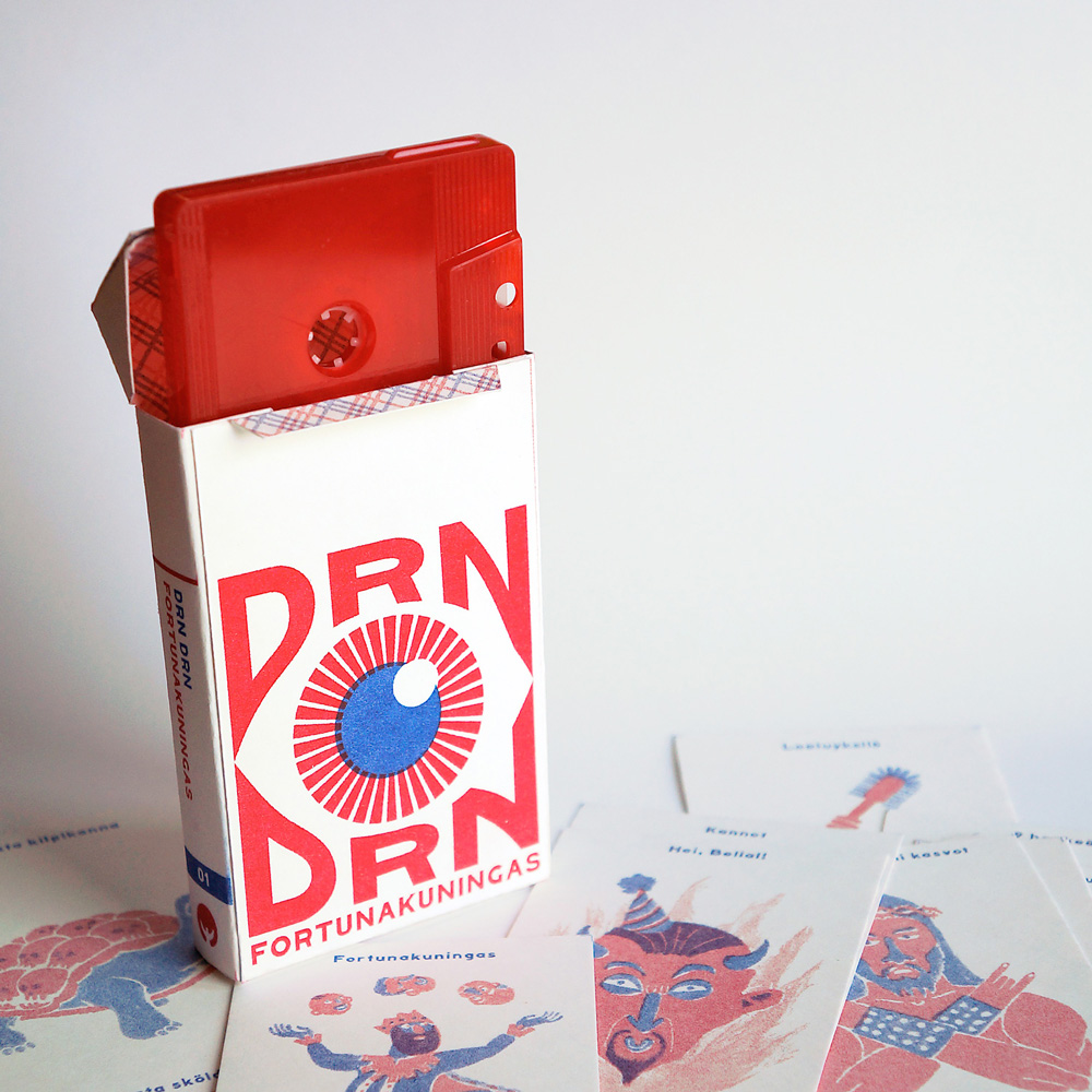 Drn Drn! packaging,  2013
