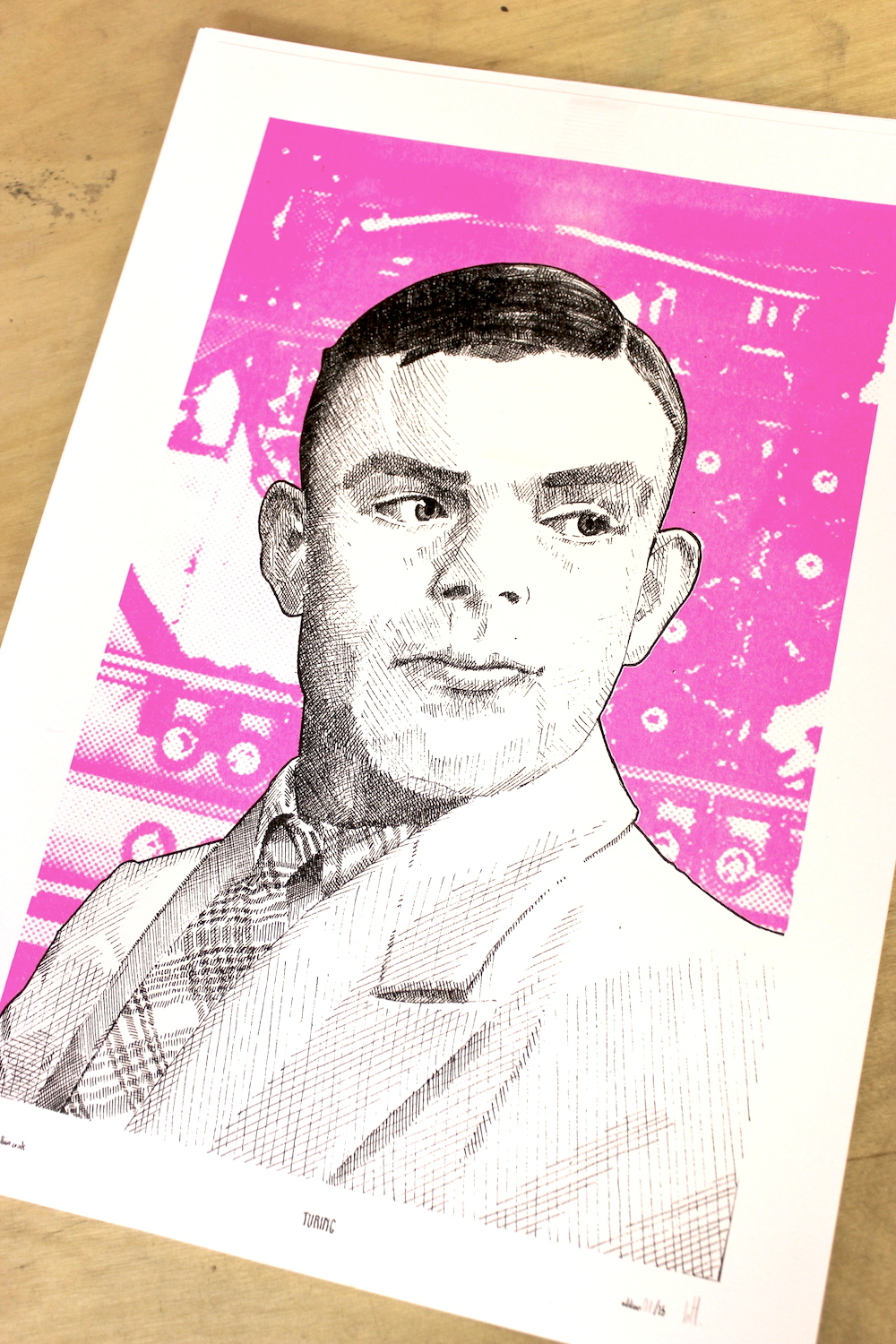 Alan Turing for Manchester University