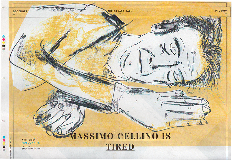 Massimo Cellino is tired