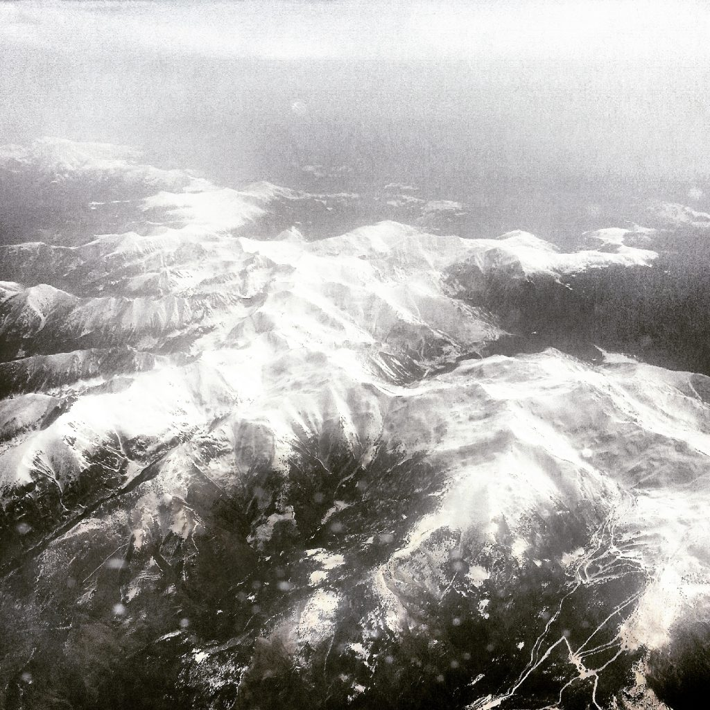 The Pyrenees, a stunning sight approaching Barcelona