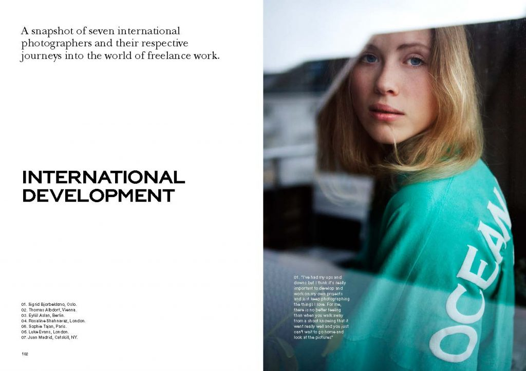 Meet the team: Sigrid Bjorbekkmo at Intern Magazine