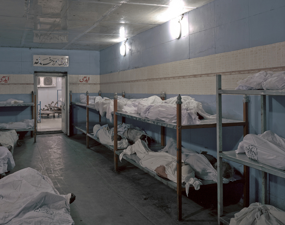 Edhi Morgue - Pakistan's largest capacity morgue from SEARCHING FOR KARACHI
