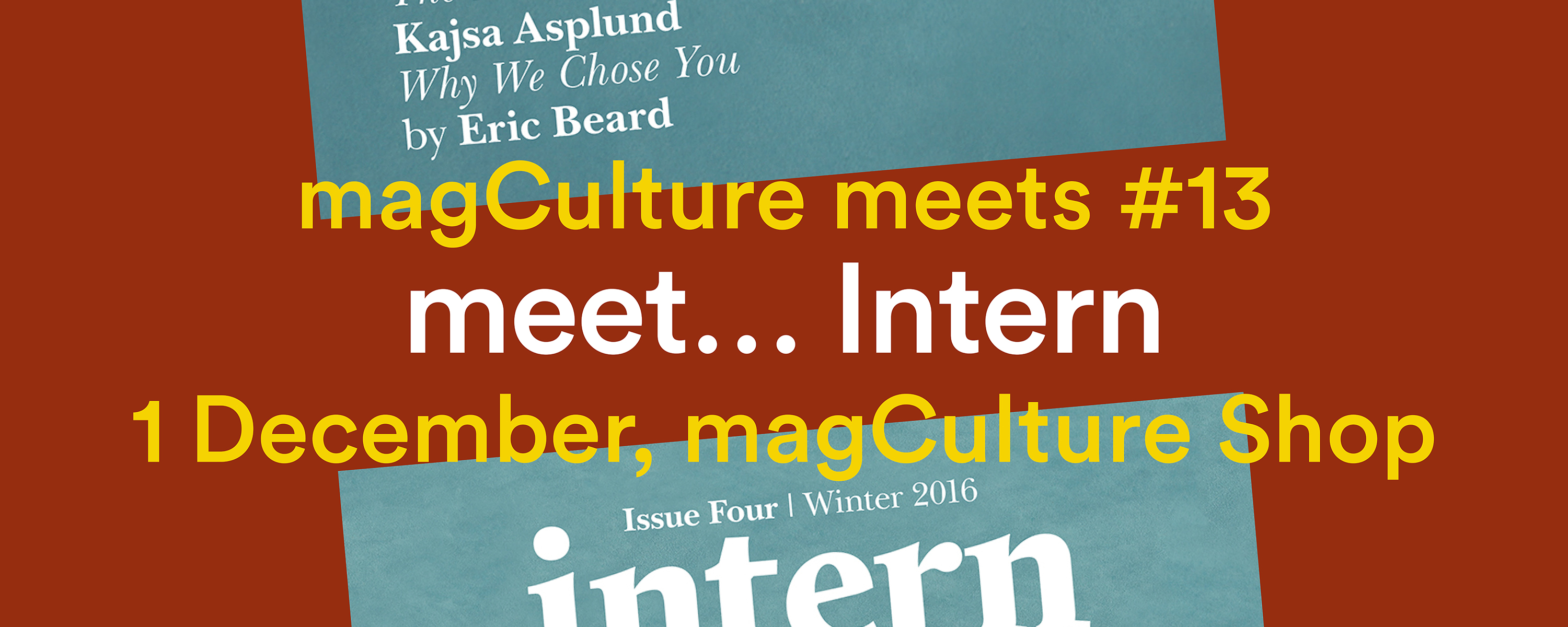 Issue Four on tour at Intern Magazine