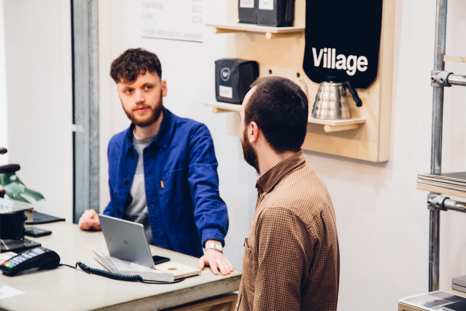 Ben & Joe, our pals at Village. Photo by Awesome Merchandise